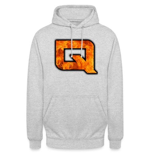 QeAr NexuZ Logo for apparel png - Unisex Hoodie