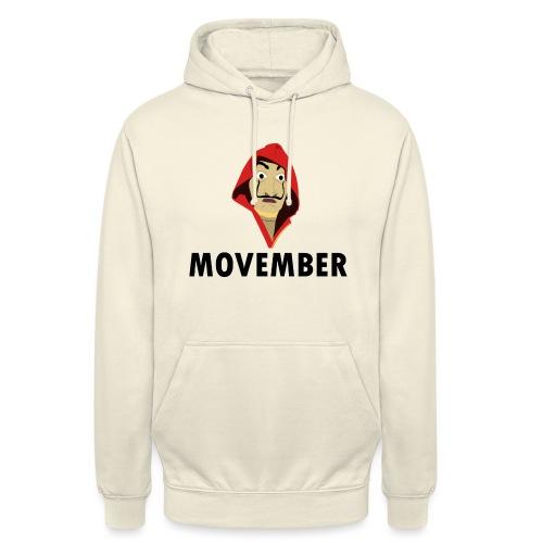Le mois de la moustache - Sweat-shirt à capuche unisexe