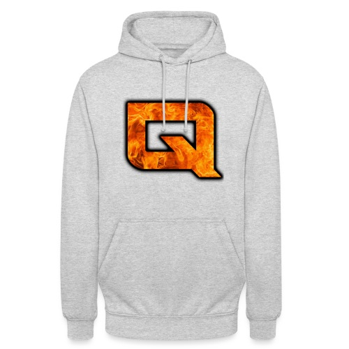 QeAr NexuZ Logo for apparel png - Unisex Hoodie