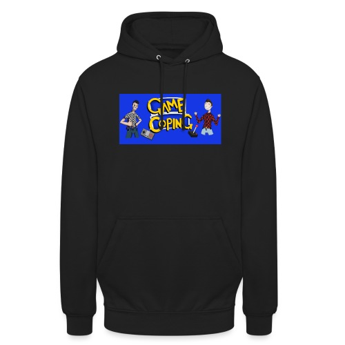 Game Coping Happy Banner - Unisex Hoodie