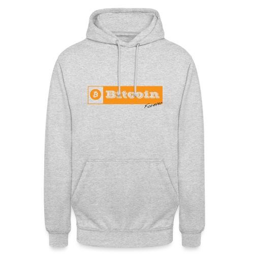 Bitcoin Forever - Sweat-shirt à capuche unisexe