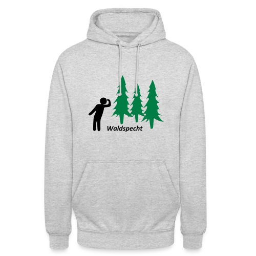 Waldspecht 2-farbig Kopie - Unisex Hoodie
