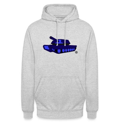 BLUE TANK png - Unisex Hoodie