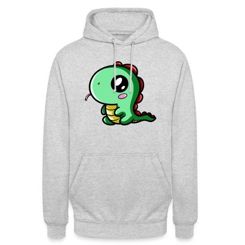 Dinosaure Kawaii - Sweat-shirt à capuche unisexe