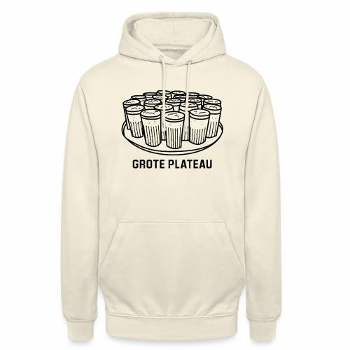 Grote Plateau - Hoodie unisex