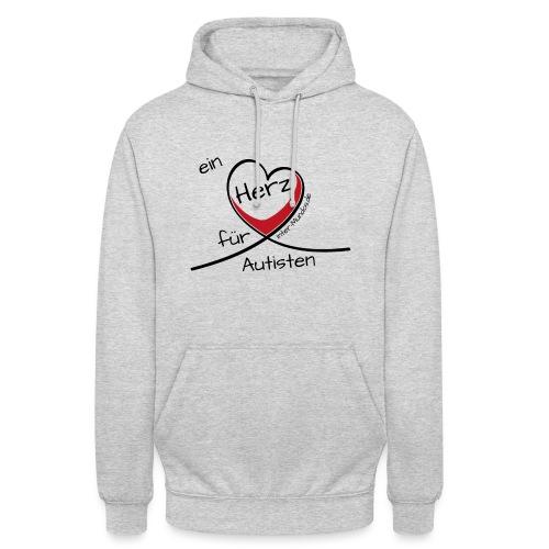 Ein Herz für Autisten - Unisex Hoodie