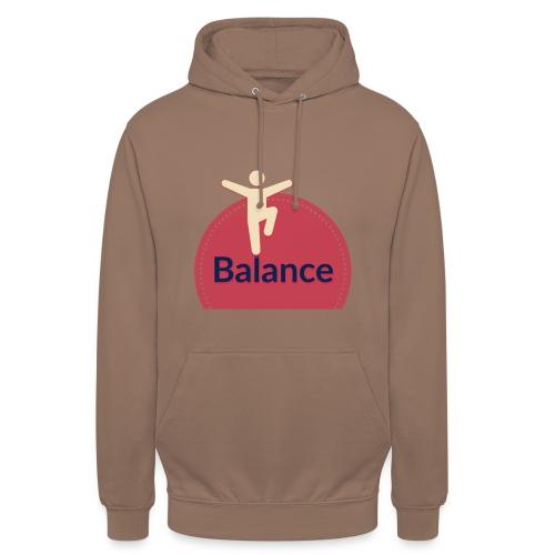 Balance red - Unisex Hoodie