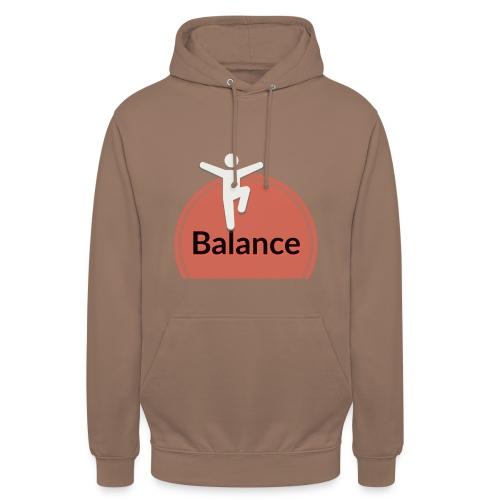 Balance pink black - Unisex Hoodie