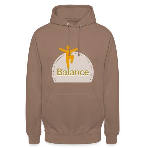 Balance berge yellow - Unisex Hoodie