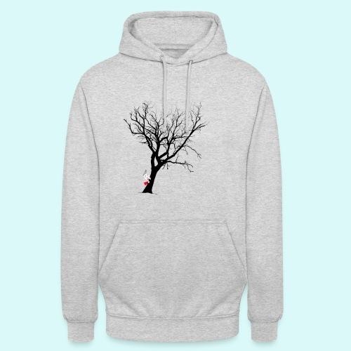 clown arbre - Sweat-shirt à capuche unisexe