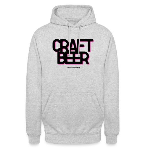 CRAFT BEER - Sudadera con capucha unisex