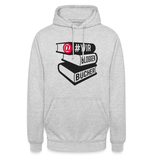 #wirbloggenbücher Logo - Unisex Hoodie