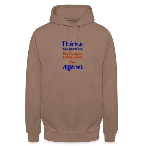 Thérèse - Sweat-shirt à capuche unisexe