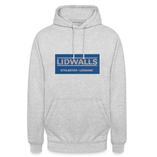 Lidwalls Stålbåtar - Luvtröja unisex