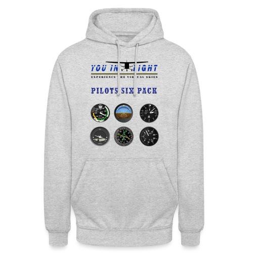 Pilots six pack shirts - Hættetrøje unisex