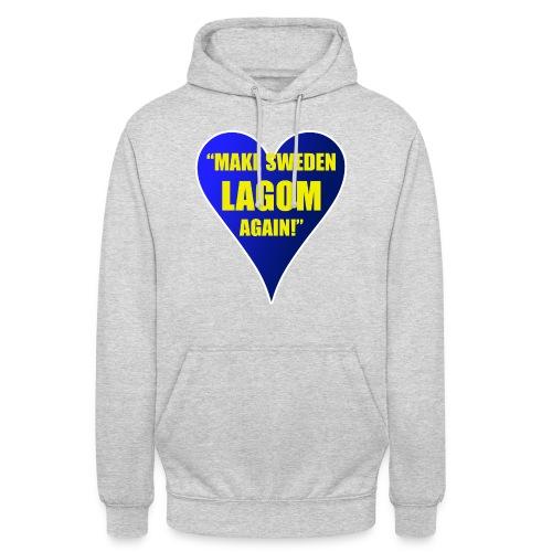 Make Sweden Lagom Again - Luvtröja unisex