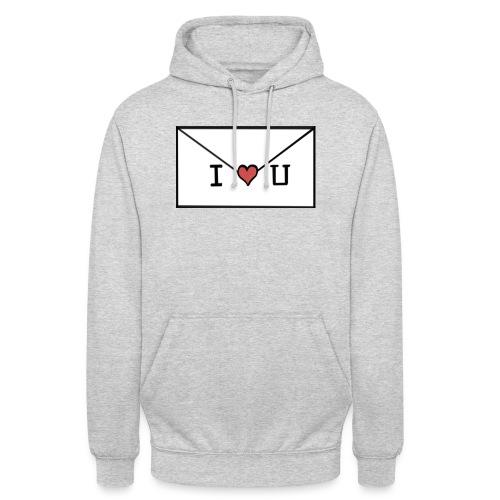 I love u letter - Unisex Hoodie
