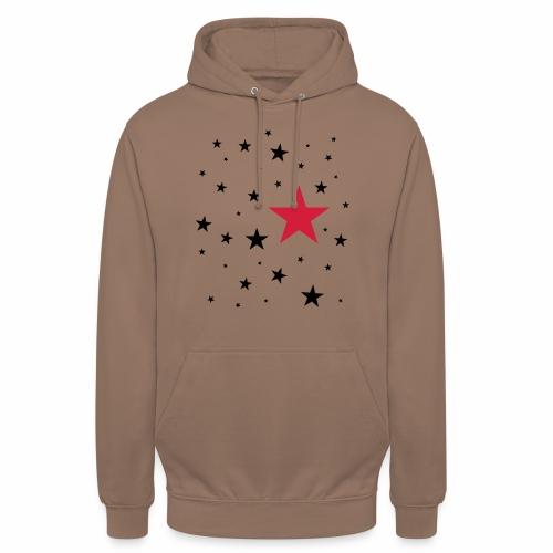 Sterne zweifarbig - Unisex Hoodie