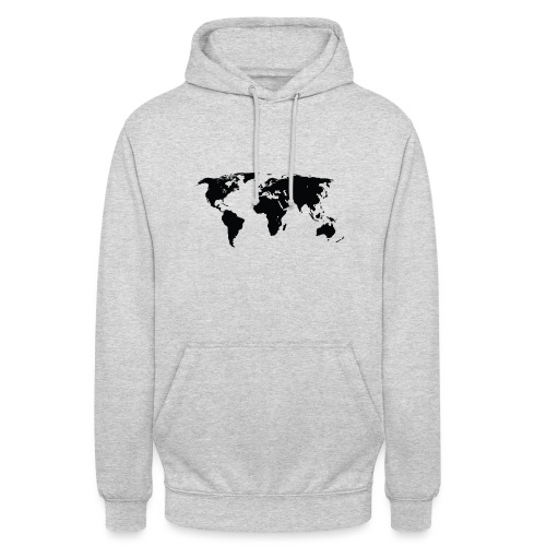 World - Hættetrøje unisex