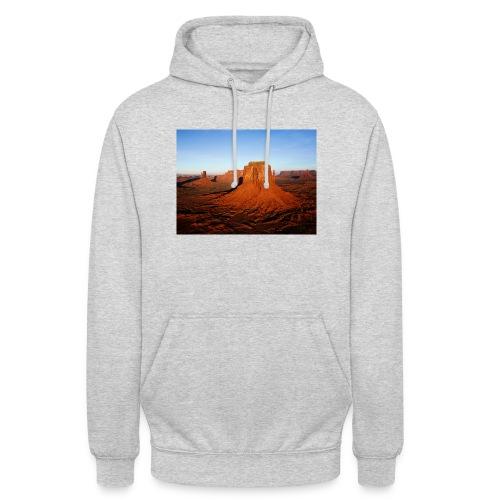 Desert - Sweat-shirt à capuche unisexe