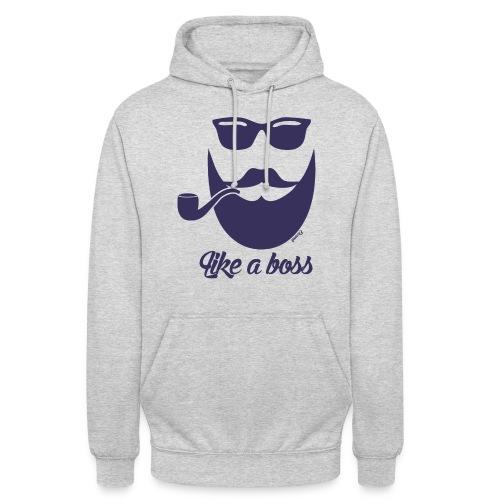 Comme un boss (H) - Sweat-shirt à capuche unisexe