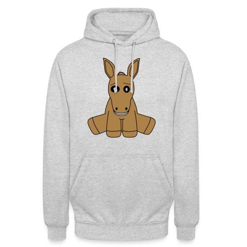 horse - Felpa con cappuccio unisex