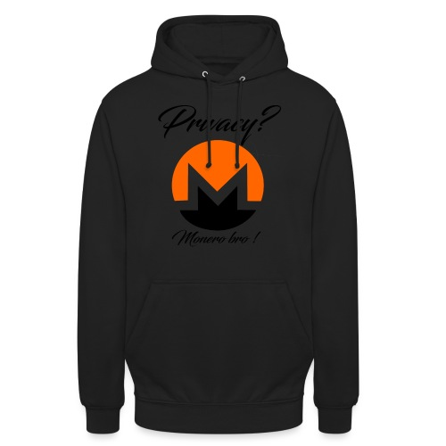 Moneroooo - Sweat-shirt à capuche unisexe