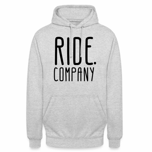 RIDE.company - just RIDE - Unisex Hoodie