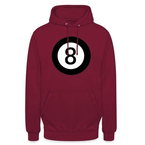 Black 8 - Unisex Hoodie