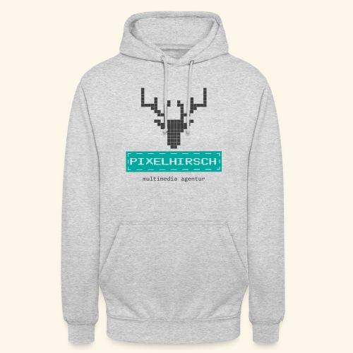 PIXELHIRSCH - Logo - Unisex Hoodie