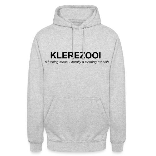 klerezooi - Hoodie unisex