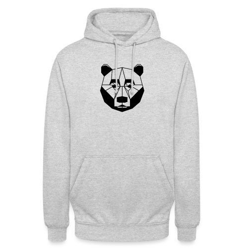 ours - Sweat-shirt à capuche unisexe