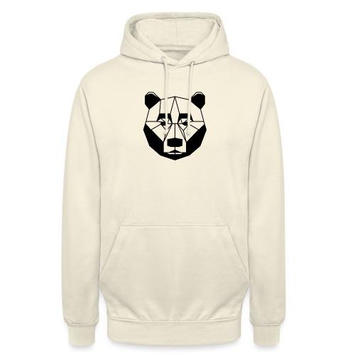ours - Sweat-shirt à capuche unisexe
