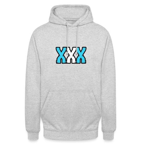 XXX (Blue + White) - Unisex Hoodie