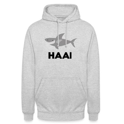 haai hallo hoi - Hoodie unisex