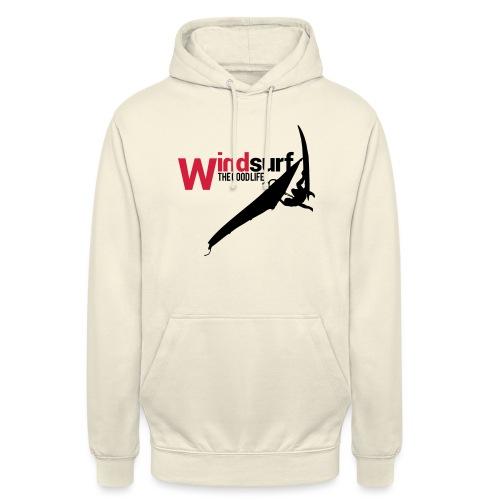 Windsurf - Felpa con cappuccio unisex