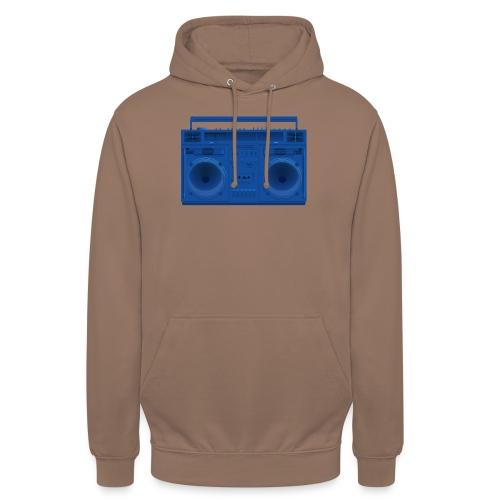 Bestes Stereo blau Design online - Unisex Hoodie