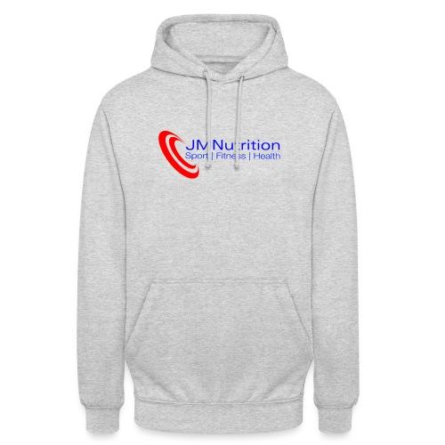 JMNutrition logo Red (tra - Unisex Hoodie