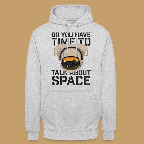 Time for Space - Bluza z kapturem typu unisex