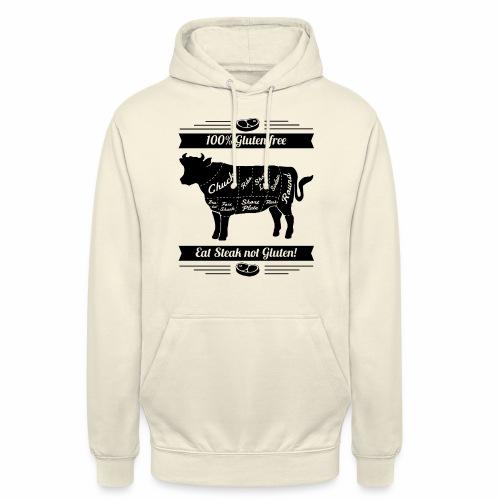 Humorvolles Design für Fleischliebhaber - Unisex Hoodie