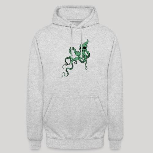 Skull octopus - Felpa con cappuccio unisex
