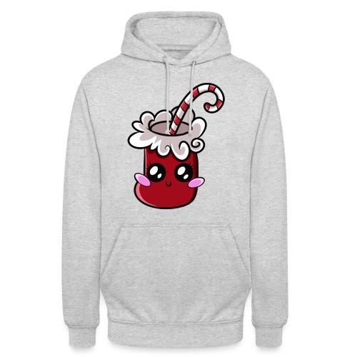 Chaussette de Noël Kawaii ! - Sweat-shirt à capuche unisexe