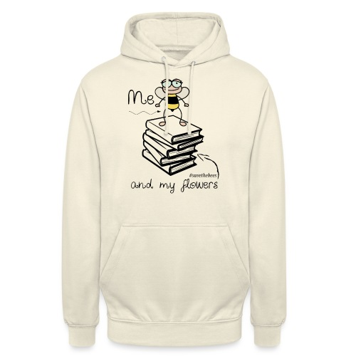 Bees1 - Me and my flowers | save the bees - Unisex Hoodie
