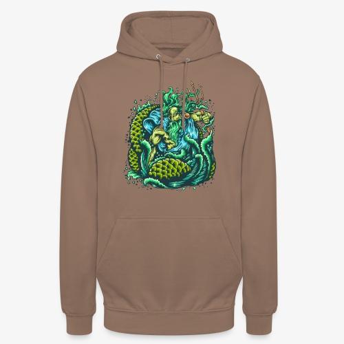Dieu de la mer - Sweat-shirt à capuche unisexe