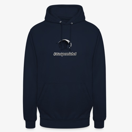 Vague Wave Thinkpornichet by DesignTouch - Sweat-shirt à capuche unisexe