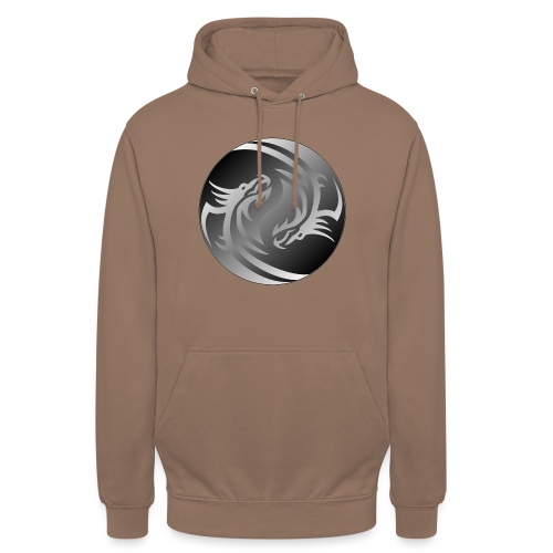 Yin Yang Dragon - Unisex Hoodie