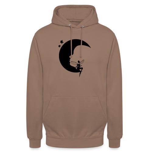 Fée de la Lune - Sweat-shirt à capuche unisexe