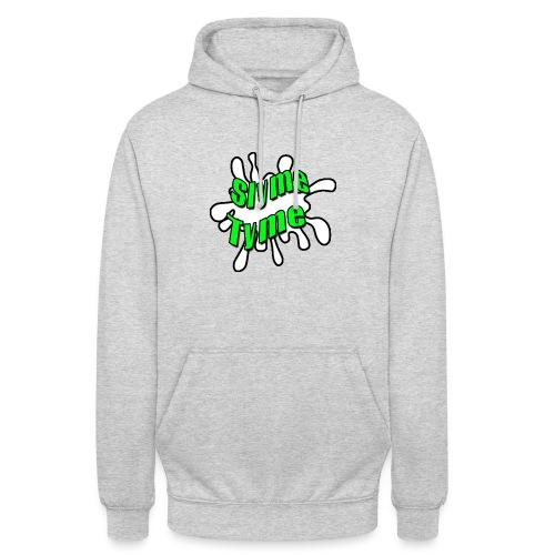 Slyme Tyme Logo / Green To White - Unisex Hoodie