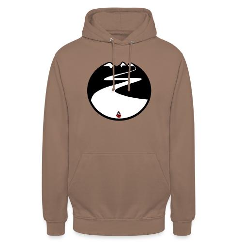 Montagne noire - Sweat-shirt à capuche unisexe