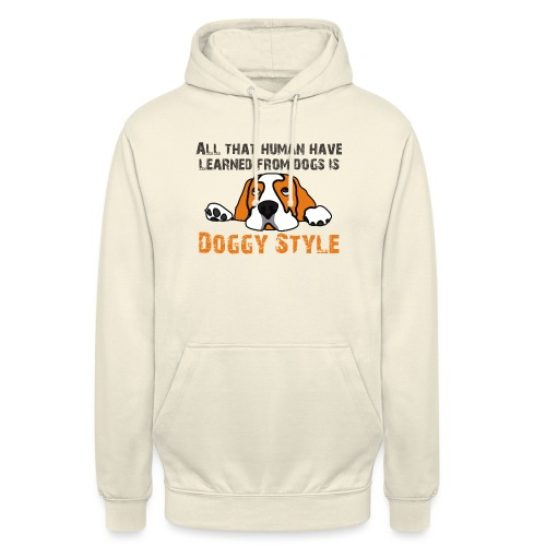 Doggy Style - Sweat-shirt à capuche unisexe